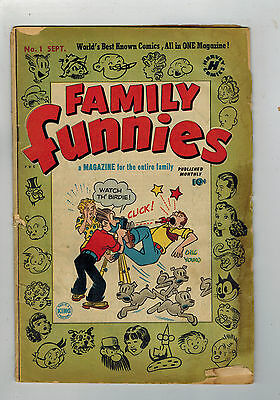 FAMILY FUNNIES COMIC No. 1 from 1950 Harvey