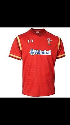 WRU WALES SUPPORTERS large  Home Rugby shirt