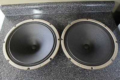 "Oxford 12"" Speakers  8 Ohm 465-223 OXC12A611A 12J4-13"
