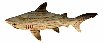 Resin Carved Wood Look Shark Home Decor Accents, New