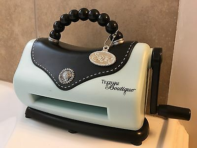 Sizzix Texture Boutique Embossing Machine For Crafts