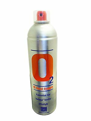 1 X Pure Oxygen 7.2 Litre can, Sports Portable Oxygen Cylinder