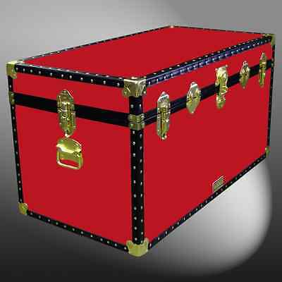 R36D Storage Box/travel/furniture/boarding School/shipping Trunk Chest Case