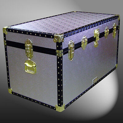 As Aluminium Storage Box/shipping/boarding School Trunk Chest Case