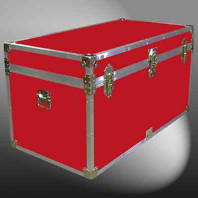 38D Storage Box/luggage/travel/boarding School/university Trunk Chest Furniture