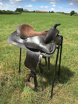 Leather Western Saddle, Western Riding