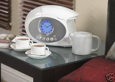 Swan Teasmade Stm100 Tea Coffee Maker Alarm Clock