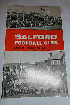 Salford v Wigan 13th September 1970 Lancashire Cup 2nd Rd@ The Willows, Salford