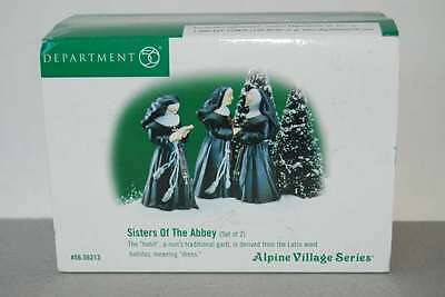 Department 56 Sisters of the Abbey # 56213 NEW! Alpine Village Sound of Music