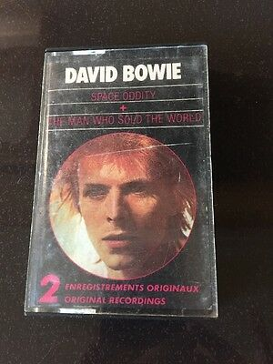 David Bowie Space Oddity + The Man Who Sold The World. Tape