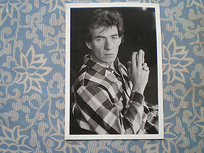 Vintage Ian Mckellen Postcard Photo National Theatre