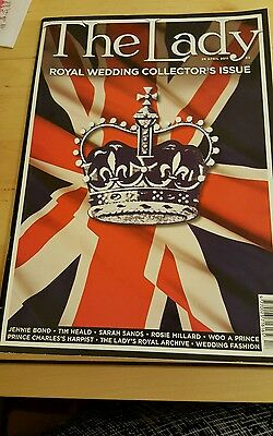 the lady magazine royal wedding collector's issue  26th April 2011. A1 condition