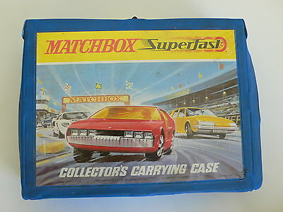 Matchbox Superfast Collection 48 Models & Carry Case  LOVELY CONDITION  Vintage