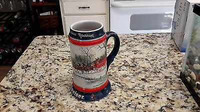 1990 BUDWEISER Bud CLYDESDALE Horse BEER STEIN Mug #CS112- AN AMERICAN TRADITION
