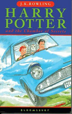 Harry Potter and the Chamber of Secrets (Book 2), J K Rowling FIRST EDITION