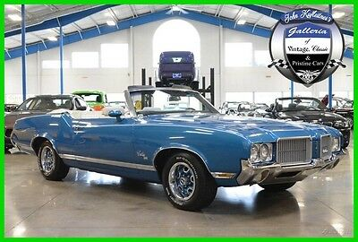1971 Oldsmobile Cutlass SX 1971 Oldsmobile Cutlass Supreme SX Convertible 455-Rocket V8 Numbers Matching 71
