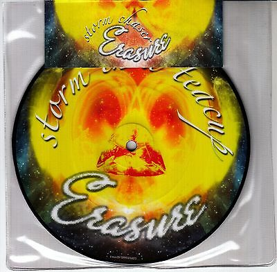 """ERASURE Storm Chaser 2007 UK limited edition vinyl picture disc 7"""" NEW/SEALED"""