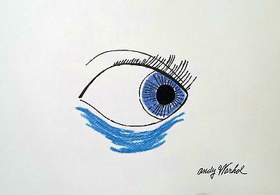 Andy Warhol - Ink and pencil drawing