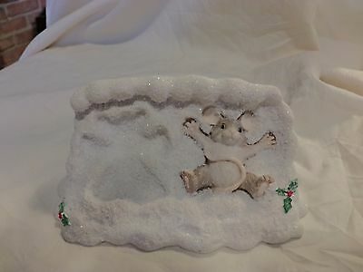 Charming Tails Maxine Making Snow Angels #87/510 SIGNED DEAN GRIFF(86)