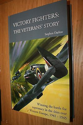 RAF Fighter Command Multi Signed Book Victory Fighters DFC DFM