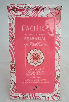 NWT Pacifica Beauty Make Up Removing Wipes - 10 Wipes