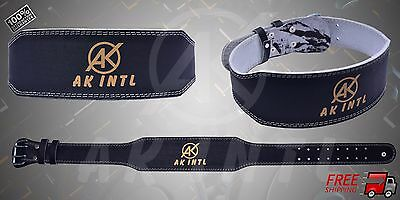 Authentic AK INTL Belt Unique Design Contoured to the Shape of the Human Body