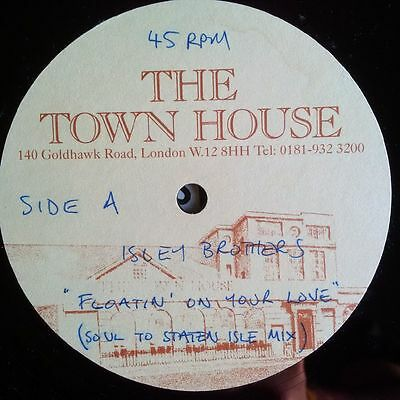 """Isley Brothers - Floatin On Your Love 12"""" Acetate"""