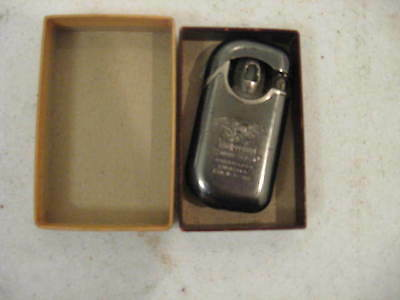 Pieree Tiger Windproof Cigarette Lighter Made In Wz-1028 & Box