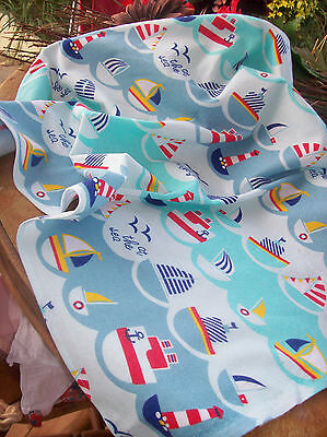 2 Homemade Baby Sheets For Crib, Moses Basket Or Crib New