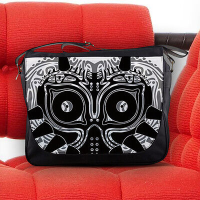 The Legend of Zelda Majora's Mask Nylon Messenger Sling Laptop Notebook Bag