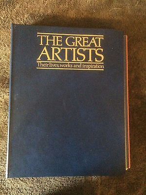 The Complete Set of Great Artists (1 to 96 in 8 binders by Marshall Cavendish)