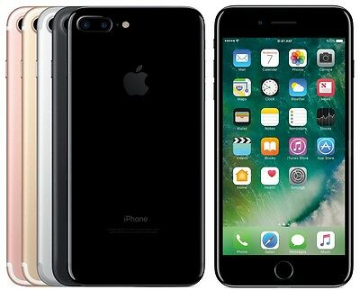 Apple iPhone 7 Plus 128GB (FACTORY UNLOCKED) Silver, Gold, Jet Black, Rose Gold