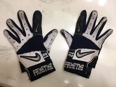 Deion Sanders Game Used Gloves