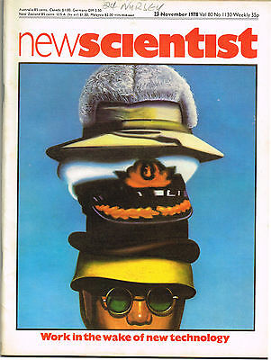 New Scientist Magazine 23 Nov 1978 Work In The Wake Of New Technology