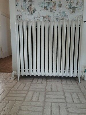 Vintage Antique Cast Iron Radiators Hot Water Or Steam Exc.condition (Maryland)