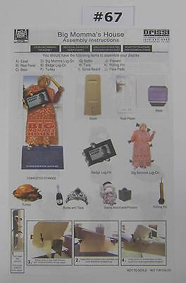 Studio Promotional Video Store Standee Big Momma's House Fox Home