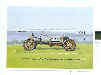 Voitures: Complete Series Ghana (New) MNH 1993