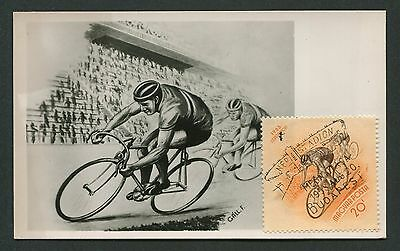 UNGARN MK 1953 SPORT RADRENNEN CYCLING MAXIMUMKARTE CARTE MAXIMUM CARD MC c9174