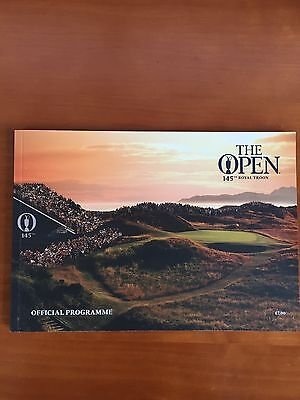 Open Golf Championship Programme July 2016 at Royal Troon