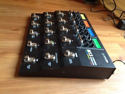 Line 6 M13 Stompbox Modeler Multi-Effects Pedal M-13 with ac adapter