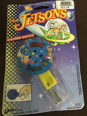 NEW!! 1990 The Jetsons Sparkle Saucer