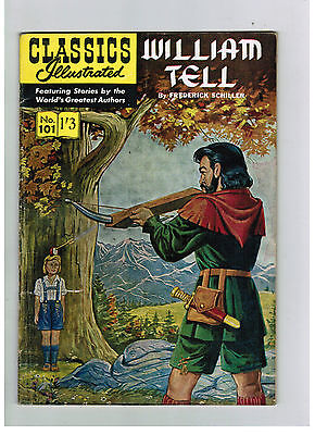 CLASSICS ILLUSTRATED COMIC No. 101 William Tell HRN 125