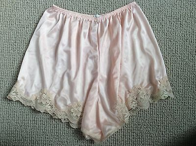 Private Vintage Sears Nylon Pink Tap Panties Size 5
