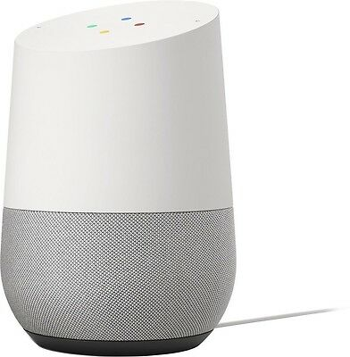 BRAND NEW - Google Home Voice Activated Personal Assistant, White Slate