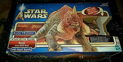 Star Wars Attack of the Clones - REEK Arena Battle Beast Figure - NEW IN BOX