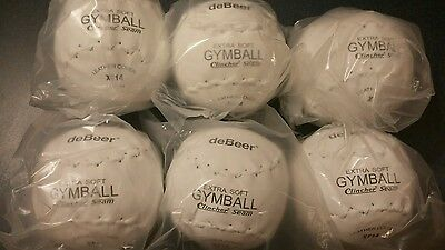 12 Clincher 14 inch extra soft gymball w/clincher seam by Debeer-XF14 softball
