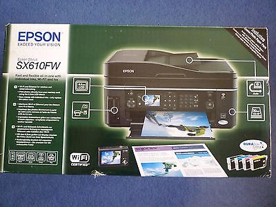 Epson Stylus SX610FW All-in-One Inkjet Printer