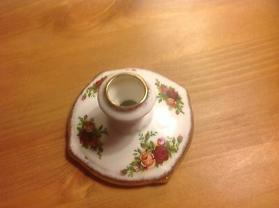 Royal albert old country roses Candle Holder