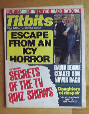 Titbits Magazine No.4800 April 1978:David Bowie Cover-Paul McCartney/Wings