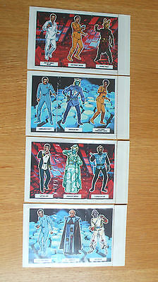 Star Trek The Motion Picture 1979:4 different strips of Weetabix cards (uncut)